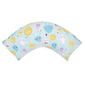 Almofada de Amamentação Malha Yoyo Baby - Nuvenzinha