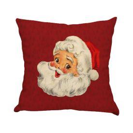 Almofada Decorativa 45X45cm Natal - Papai Noel