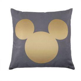 Almofada Infantil 40X40cm Disney - Mickey Gold