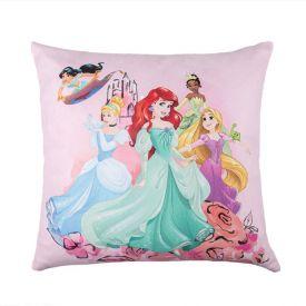 Almofada Infantil 40X40cm Princesas Magicas - Princesas Magicas