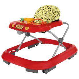 Andador Musical Safari Plus Tutti Baby - Vermelho