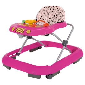 Andador Musical Safari Plus Tutti Baby - Rosa