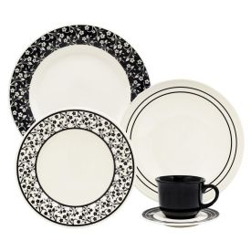 Aparelho De Jantar Havan Casa Arabesco 20 Peças - Cerâmica