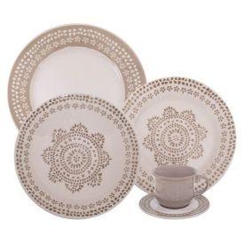 Aparelho De Jantar Havan Casa Maya 20 Peças - Cerâmica