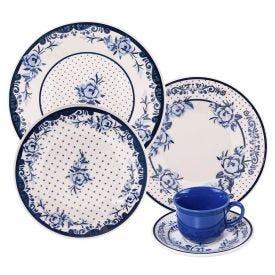 Aparelho De Jantar Oxford Biona Sophia 20 Peças - Cerâmica