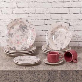 Aparelho De Jantar Oxford Donna Clara 20 Peças - Cerâmica
