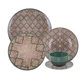 Aparelho De Jantar Oxford Unni Linen 20 Peças - Cerâmica