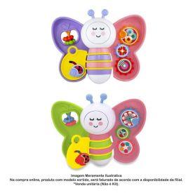 Baby Borboleta Com Luz E Som Ta Te Ti - 896