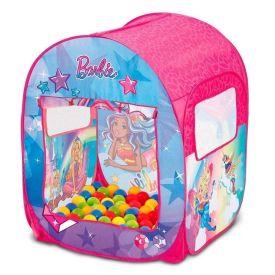 Barraca Infantil Da Barbie Com 50 Bolinhas Fun - F00068