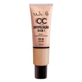 Base CC Cream Antipoluição Vult - Bege Natural