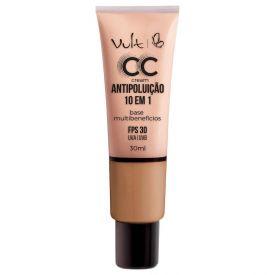 Base CC Cream Antipoluição Vult - Bege Escuro