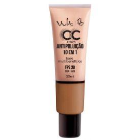 Base CC Cream Antipoluição Vult - Marrom Claro