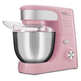 Batedeira Planetária PHP500 Turbo Inox Pink 500W Philco