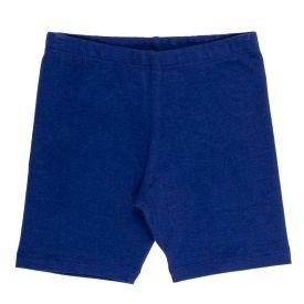 Bermuda 1 a 3 Anos Ciclista Cotton Básica Yoyo Kids Azul Marinho