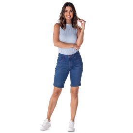Bermuda Jeans Ciclista com Recorte Conthato Blue