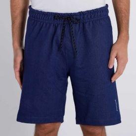 Bermuda Jeans de Moletom Nicoboco Azul