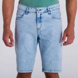 Bermuda Jeans em Lavagem Clara Marc Alain Blue Claro