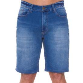 Bermuda Jeans em Lavanderia Clara Marc Alain Blue Light