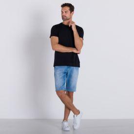Bermuda Jeans Fricção Thing Azul Claro