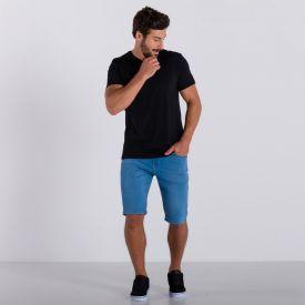 Bermuda Jeans Slim Claro Marc Alain Blue Claro