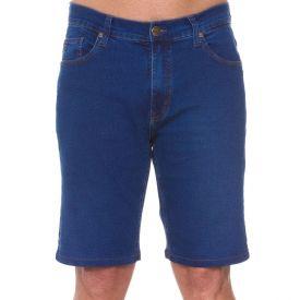 Bermuda Jeans Tradicional Marc Alain Blue Medio