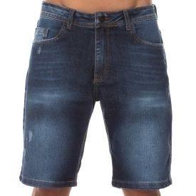 Bermuda Jeans Used Stone Nicoboco Blue