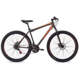 Bicicleta Aro 29 Jaws Disk Brake Mormaii - Grafite/Laranja