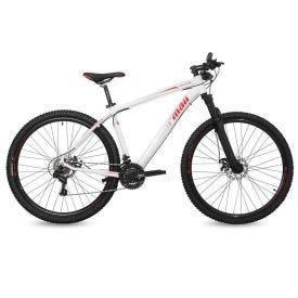 Bicicleta Aro 29 Venice 1.0 Branco Com Vermelho Mormaii - 2012103