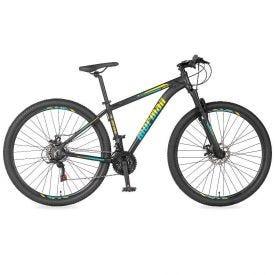 Bicicleta Aro 29 Venice 3.0 Azul E Amarelo - Mormaii