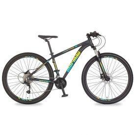 Bicicleta Aro 29 Venice 4.0 Azul E Amarelo - Mormaii