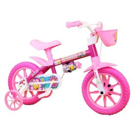 Bicicleta Infantil Aro 12 Flower Nathor - 100010160038