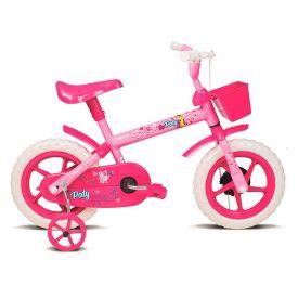 Bicicleta Infantil Aro 12 Paty Rosa Com Fucsia Verden - 10440