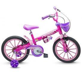 Bicicleta Infantil Nathor Aro 16 Top - Rosa