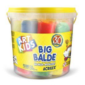 Big Balde Massinha De Modelar 1,5 Kg Acrilex - 40023