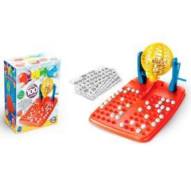 Bingo com 100 Cartelas 12141 Toia - Amarelo