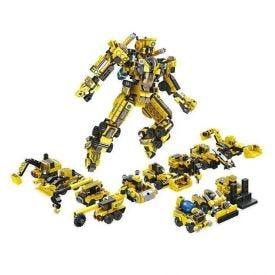 Blocos de Montar Construção Robô Multikids - BR1093 - Amarelo