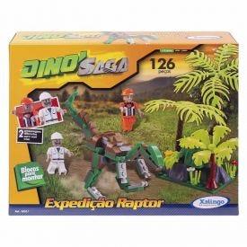 Blocos De Montar Xalingo Dino Saga - 06521