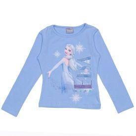Blusa 4 a 10 Anos Cotton Elsa Disney