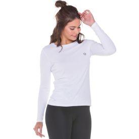 Blusa Balance UV Poliamida Body Lab Branco
