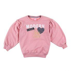 Blusa de 1 a 3 Anos Moletinho Estampa Yoyo Kids Nectar
