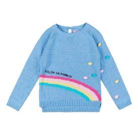 Blusa de 1 a 3 Anos Tricot com Bordado Yoyo Kids