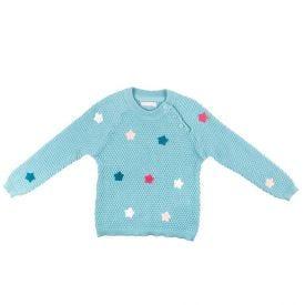 Blusa de 1 a 3 Anos Tricot Estrela Yoyo Kids