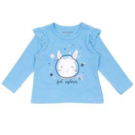 Blusa de Bebê Coelha com Tule Lantejoulas Yoyo Baby
