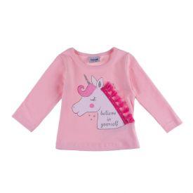 Blusa para Bebê Cotton Unicórnio Fakini