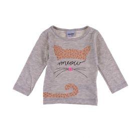Blusa de Bebê Meow Fakini Mescla