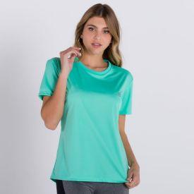 Blusa Tan Básica Poliéster Body Lab Verde Claro