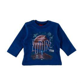 Blusão de Bebê Moletom Future Kyly Azul