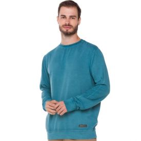 Blusão Lavado Urban Thing Verde Azulado