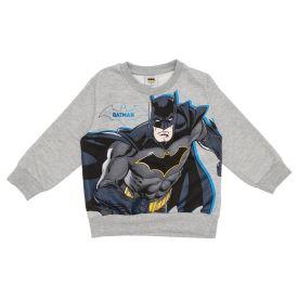 Blusão Moletom Estampado Batman DC Comics  Mescla