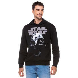 Blusão Moletom Star Wars com Capuz Disney